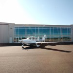 Cirrus in Front of Offices - Exterior